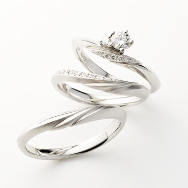 シンプル 結婚指輪のSOIR
