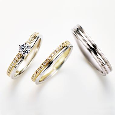 シンプル 結婚指輪のTREPPE