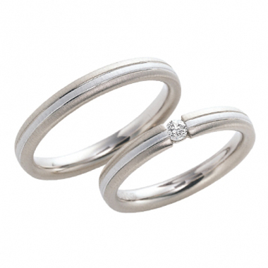 シンプル 結婚指輪のVis à Vis
