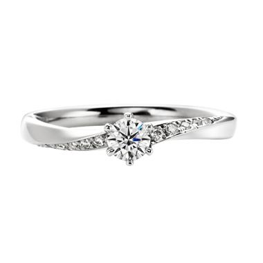 フェミニン 婚約指輪のToujours ensemble