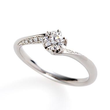 フェミニン 婚約指輪のflow