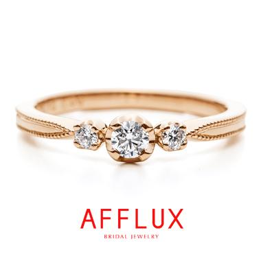 ゴージャス,アンティーク 婚約指輪のガレットデロワER