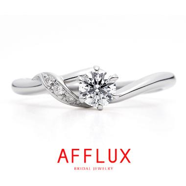 フェミニン,ゴージャス 婚約指輪のカムER