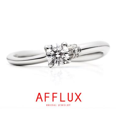 フェミニン,ゴージャス 婚約指輪のナイヤードER