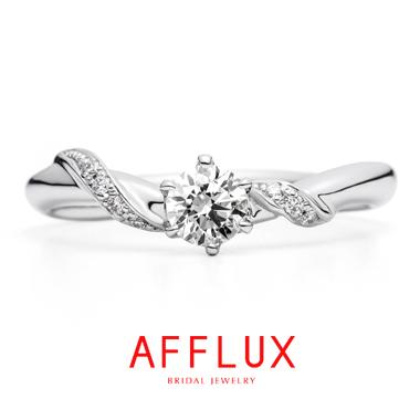 フェミニン,ゴージャス,個性的 婚約指輪のルシェロER