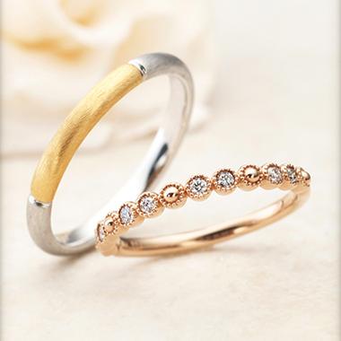 結婚指輪のSoleil