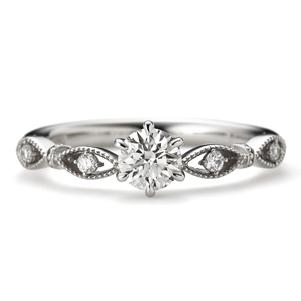 アンティーク 婚約指輪のパッショナート