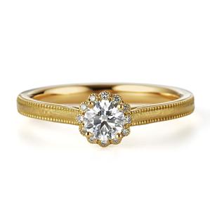 アンティーク 婚約指輪のドルチェ
