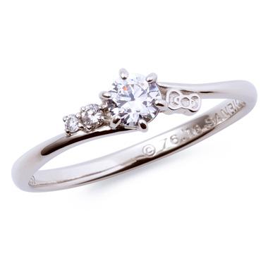 フェミニン 婚約指輪のKT-60617001