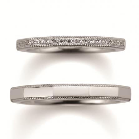 アンティーク 結婚指輪のサファリ