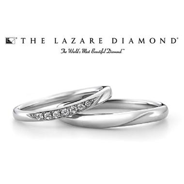シンプル 結婚指輪のカシオペア