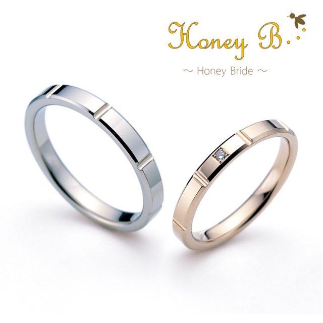 シンプル 結婚指輪のMint