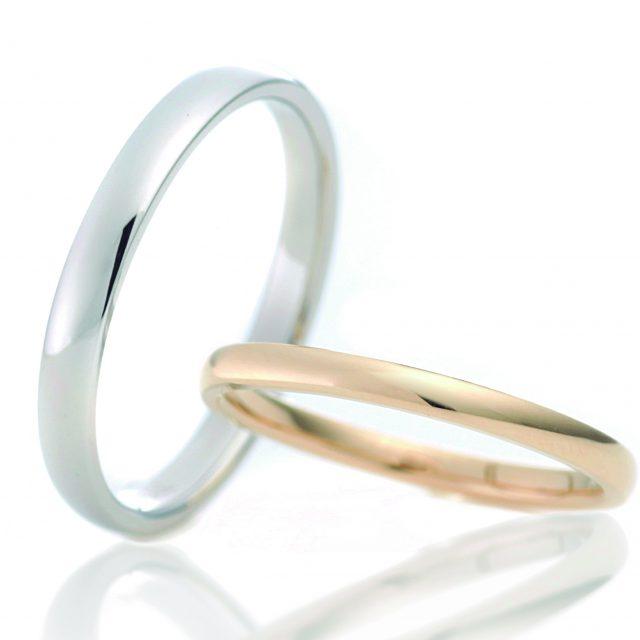 シンプル 結婚指輪のチカイノワ