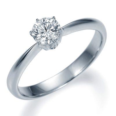 シンプル 婚約指輪の10EN14