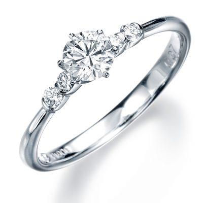 シンプル 婚約指輪の11EN18