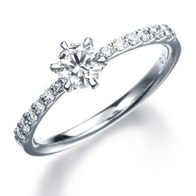 シンプル 婚約指輪の11EN19
