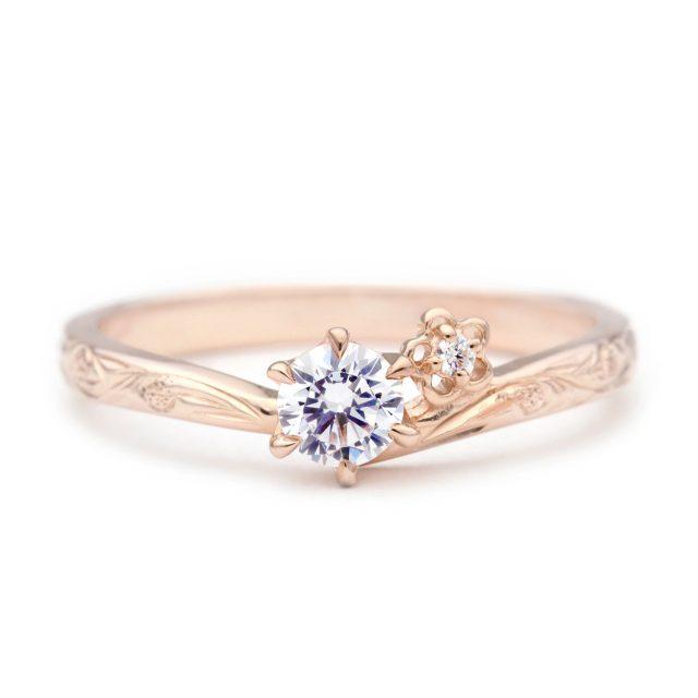 ハワイアン 婚約指輪のHIA:よろこび