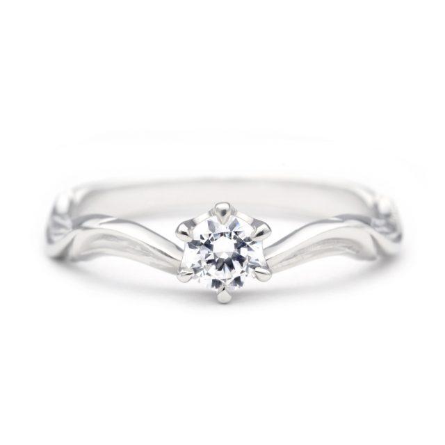 ハワイアン 婚約指輪のWALEA:やすらぎ