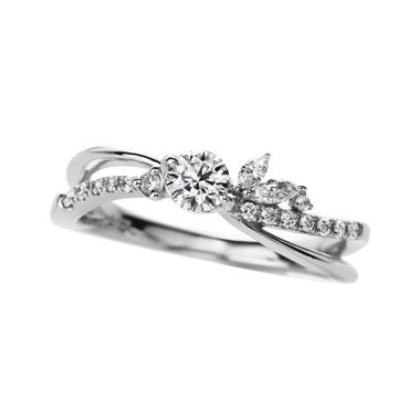 ゴージャス 婚約指輪のguirland