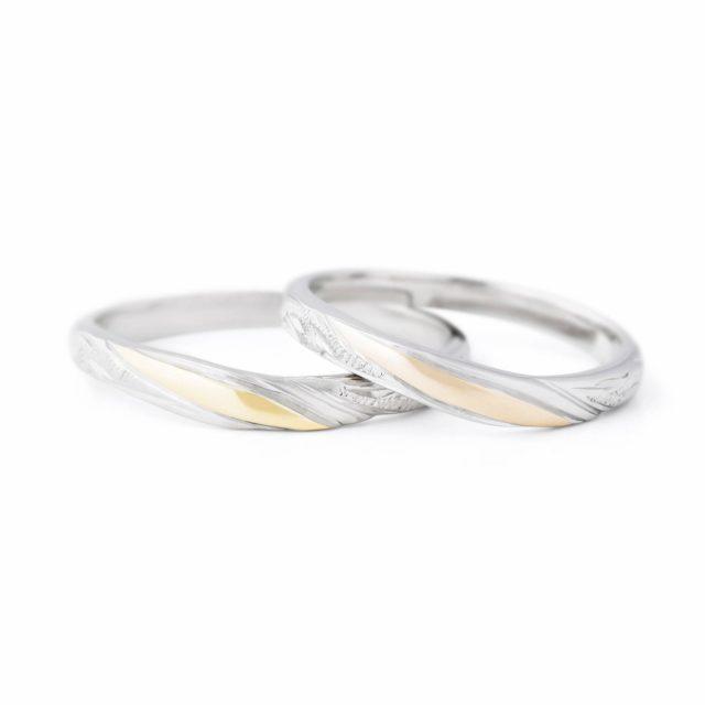 ハワイアン 結婚指輪のKONA:南風