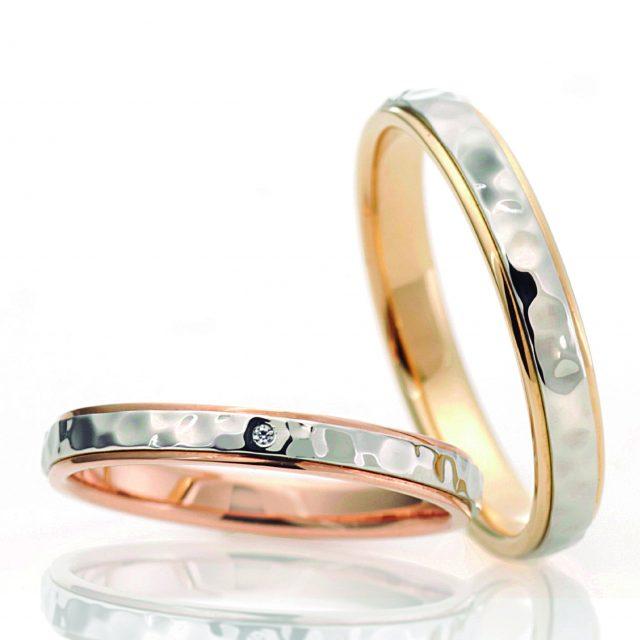 シンプル 結婚指輪のホシノワ