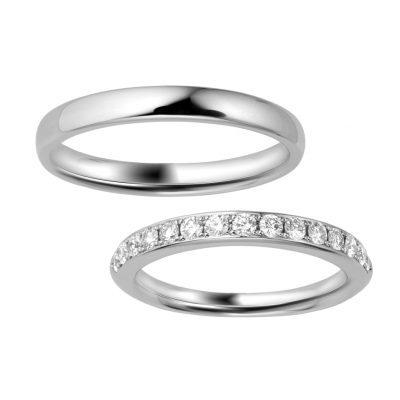 シンプル 結婚指輪のINFINITO