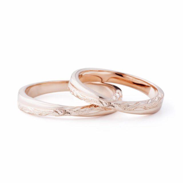 ハワイアン 結婚指輪のHOKUKEA:南十字星