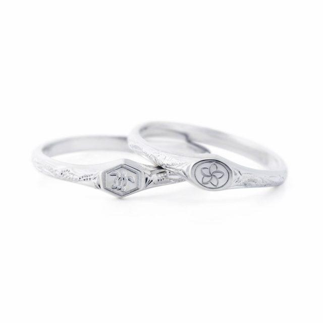 ハワイアン 結婚指輪のOLA:生命