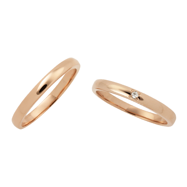 フェミニン 結婚指輪のLU00002/LU00007