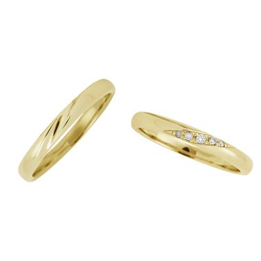 フェミニン 結婚指輪のLU00021/LU00026