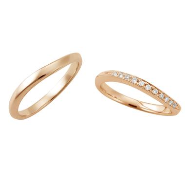 フェミニン 結婚指輪のLU00042/LU00047