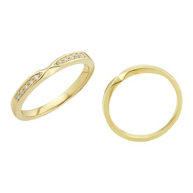 フェミニン 結婚指輪のLU00051/ LU00056