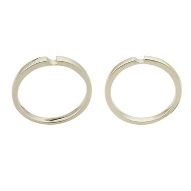 シンプル 結婚指輪のLU00063/LU00068