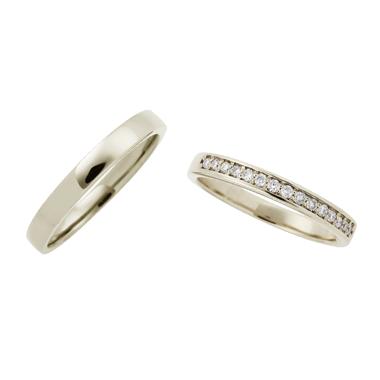 フェミニン 結婚指輪のLU00073/LU00078