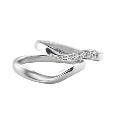 シンプル 結婚指輪のシェリール