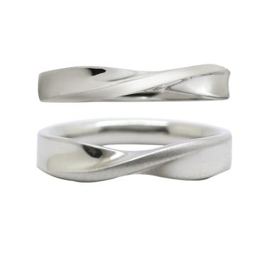 シンプル 結婚指輪のエルヴェ