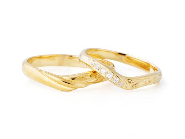 ハワイアン 結婚指輪のOPUA:雲
