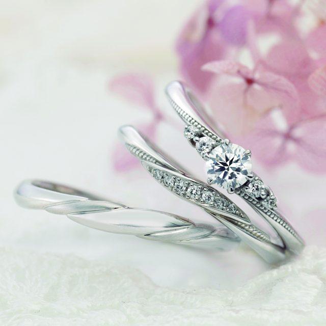 フェミニン 結婚指輪のアベニール