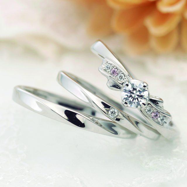 フェミニン 結婚指輪のリアン