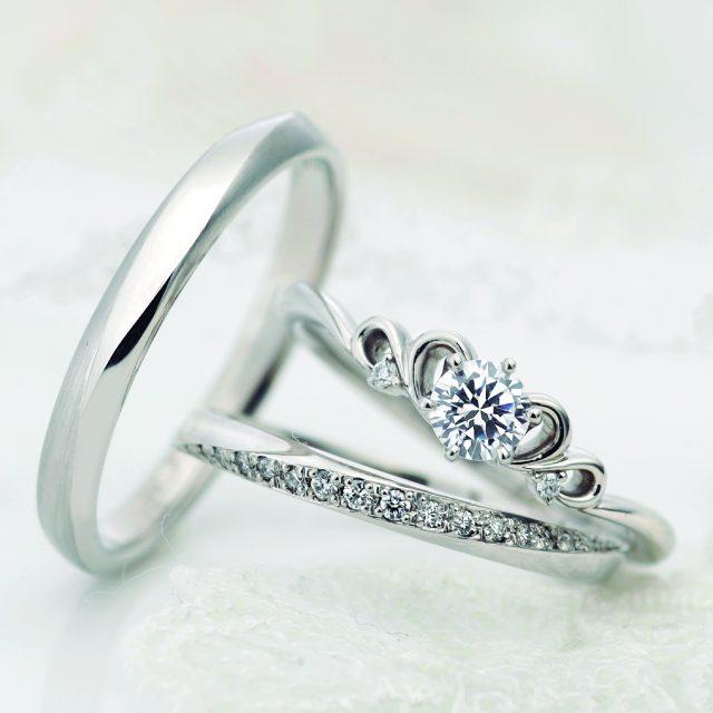 フェミニン 結婚指輪のカルム