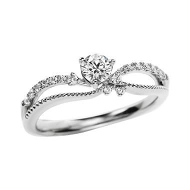 ゴージャス 婚約指輪のmignon