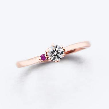 婚約指輪のbisou