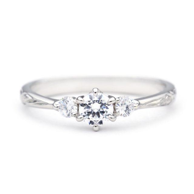 ハワイアン 婚約指輪のOLINO:かがやき