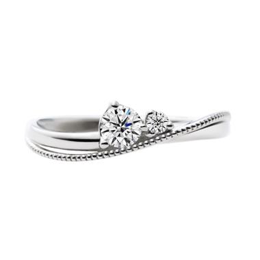 ゴージャス 婚約指輪のLapin de mois