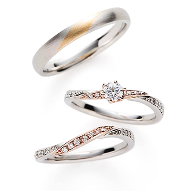 フェミニン 婚約指輪のMartini