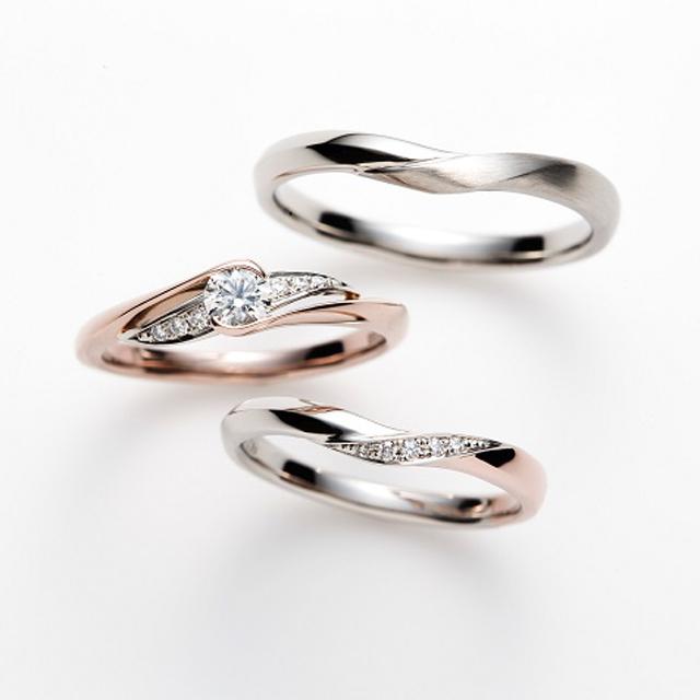 フェミニン 婚約指輪のPrisien