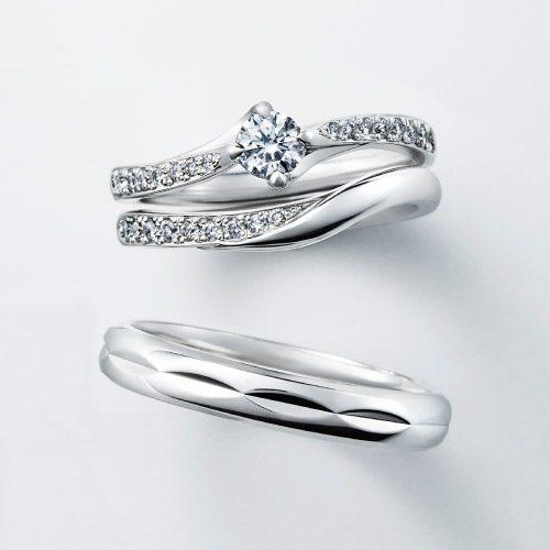 フェミニン 婚約指輪のBOUGAINVILLEAE