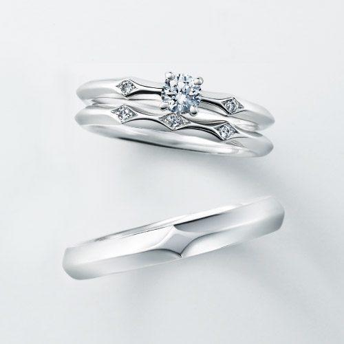 フェミニン 婚約指輪のSTATICE