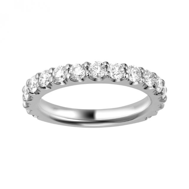ゴージャス 婚約指輪のEternity Ring