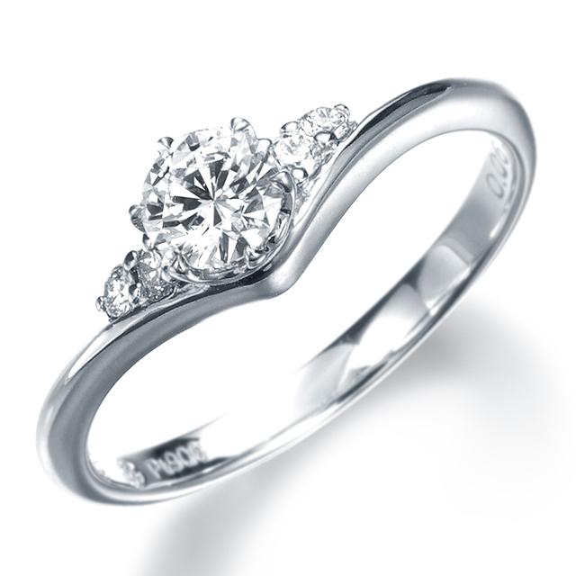フェミニン 婚約指輪の11EN20
